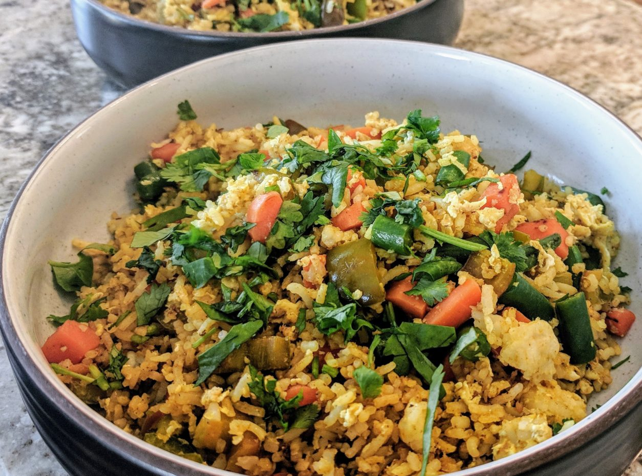 Indian Inspired Fried Rice