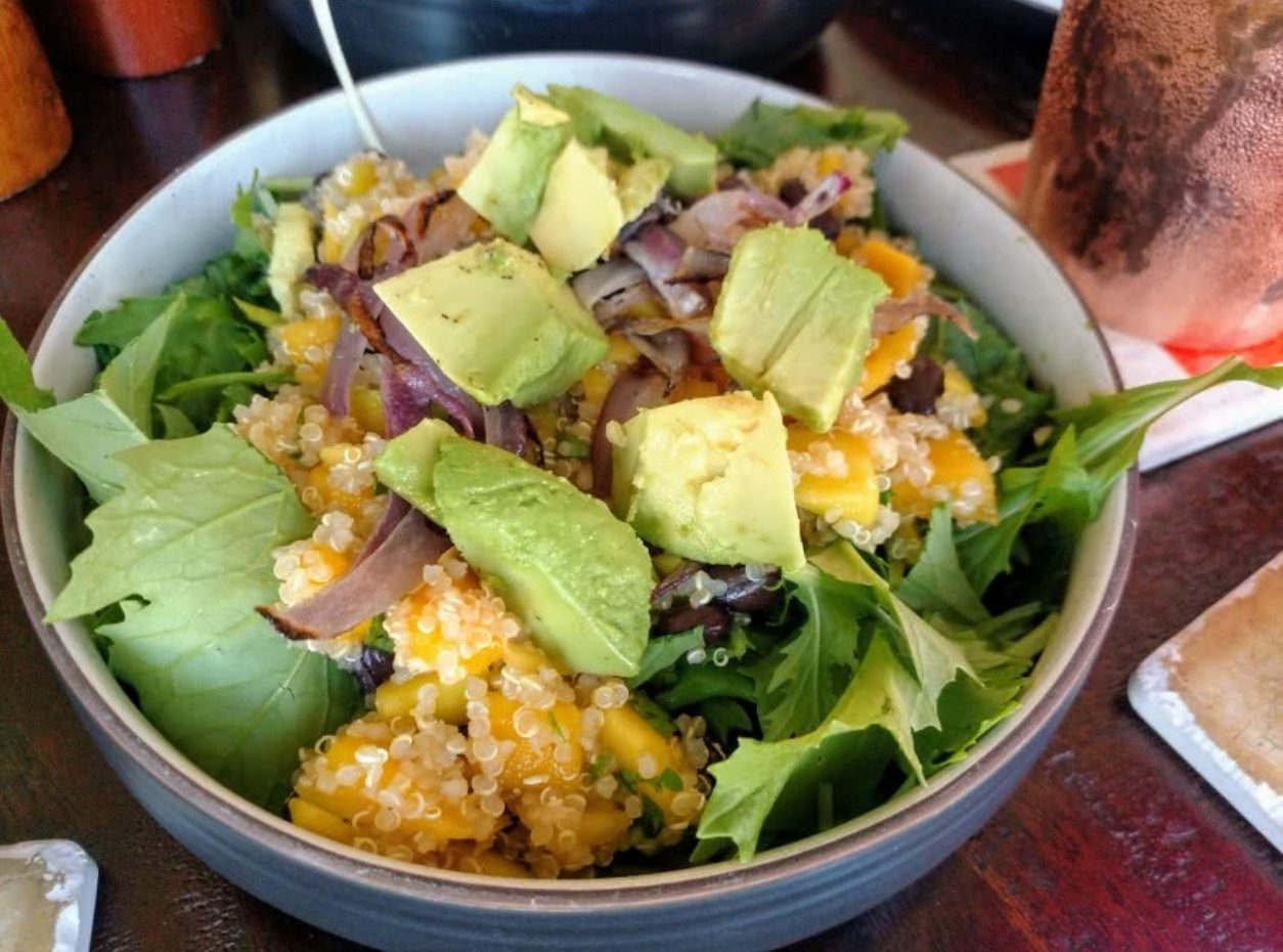 Quinoa and Mango Spring Salad